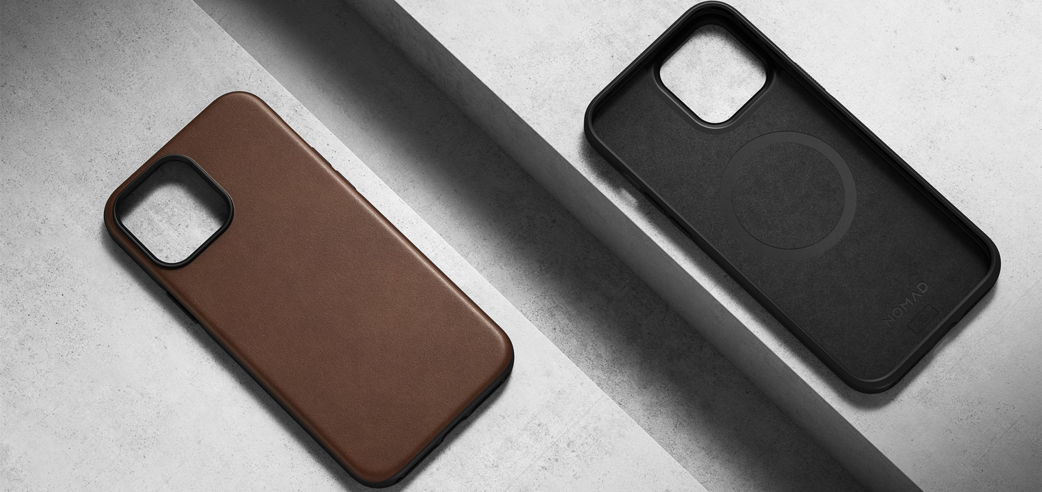 Best iPhone 13 Cases Nomad Modern Leather Case