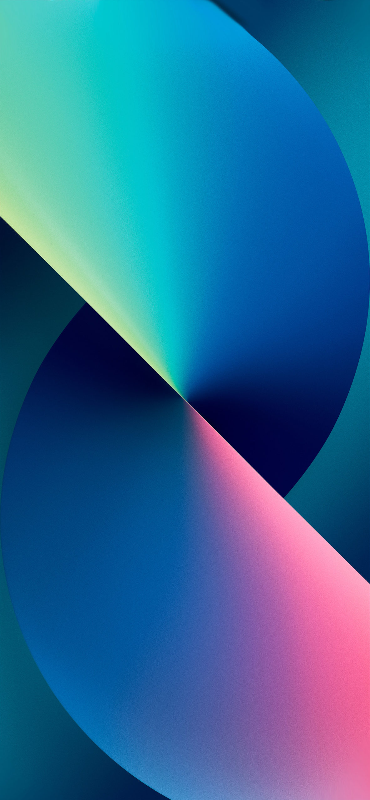 Blue iPhone 13 Wallpapers