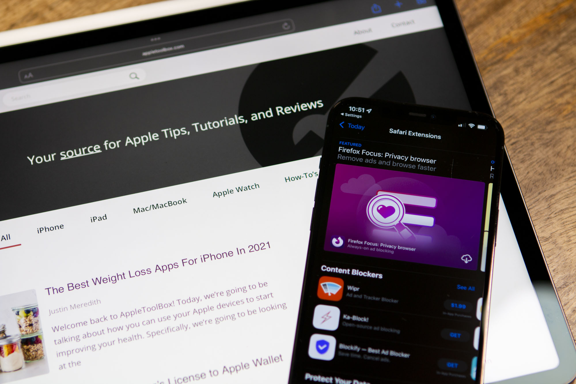 How To Install Safari Extensions on iPad and iPhone Hero