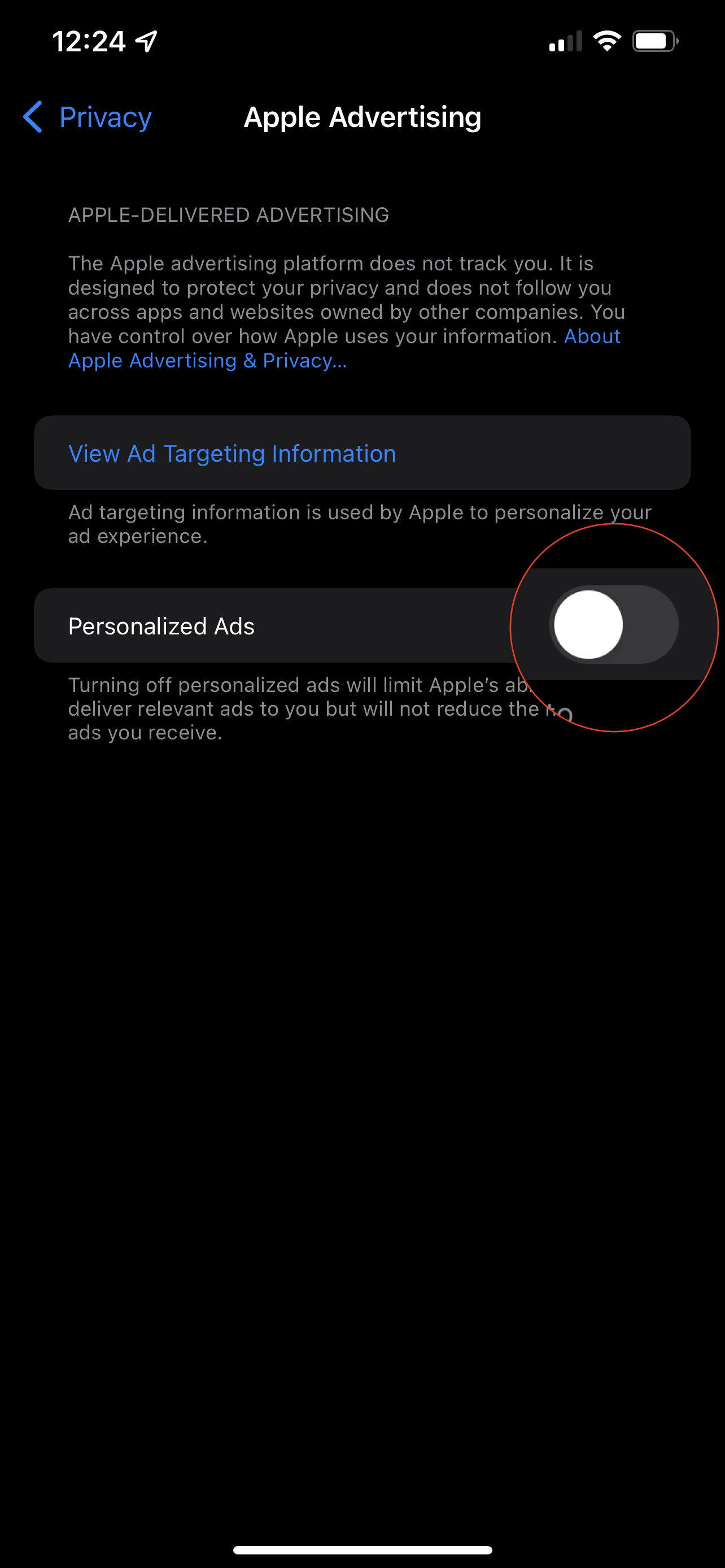 How to Opt Out of Personalized Ads 1