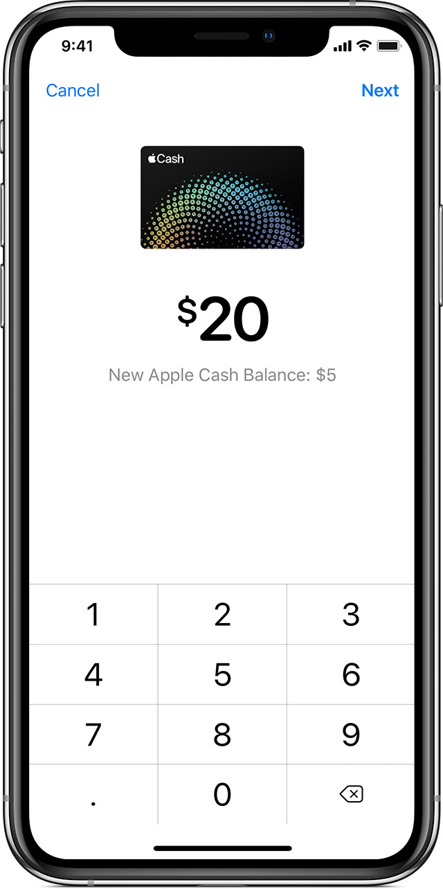How to Transfer Money with Apple Cash Card
