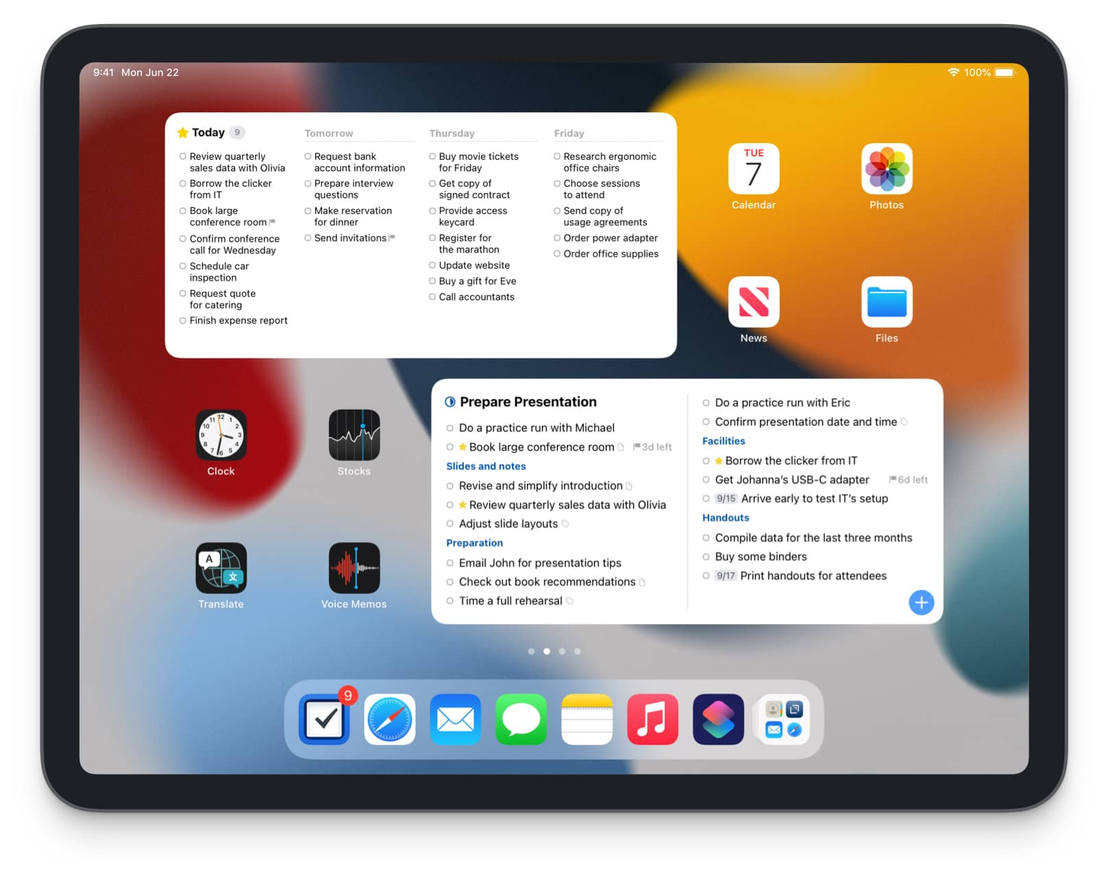 Things 3 Best Apps for iOS 15 and iPadOS 15