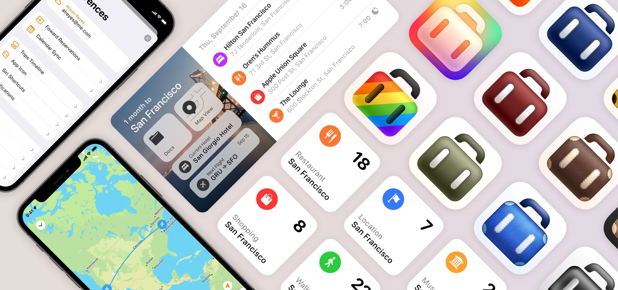 Tripsy Best Apps for iOS 15 and iPadOS 15
