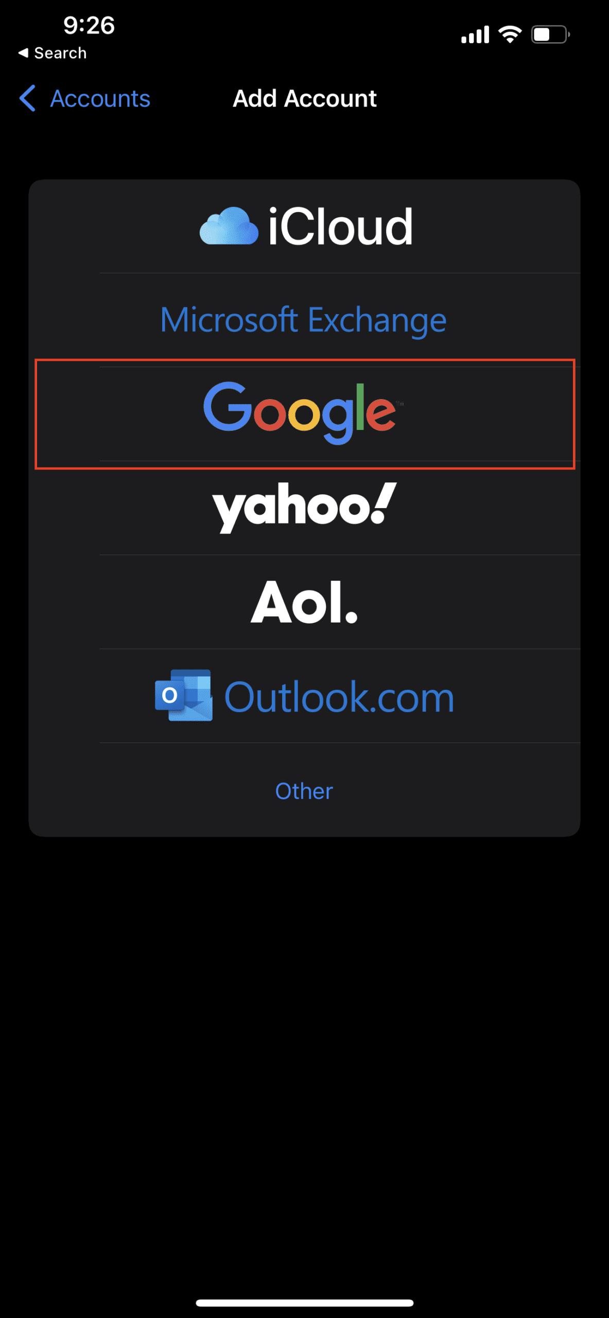 Use Google Calendar on Apple Watch 3