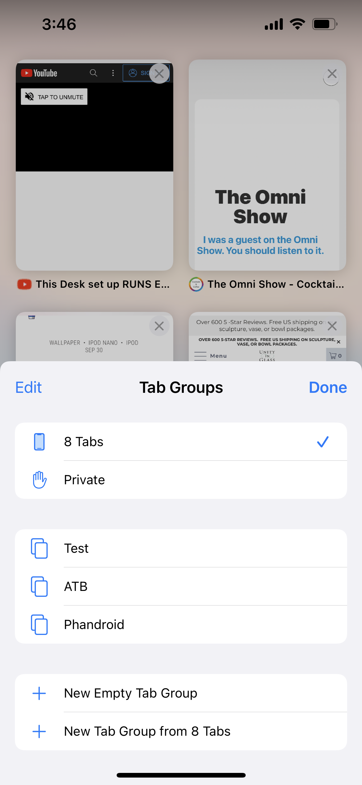 How To Use Tab Groups in Safari 2