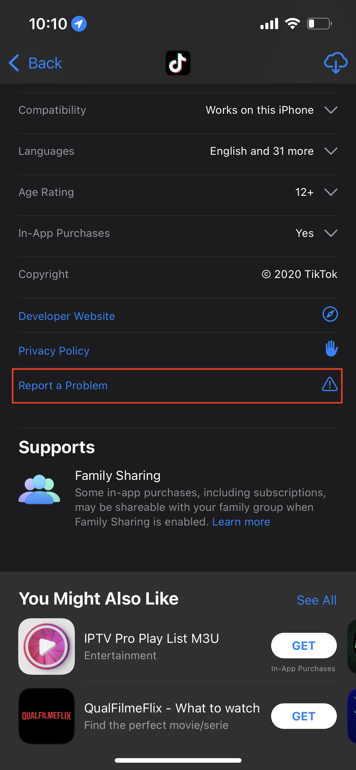 How to report App Store Scams 1