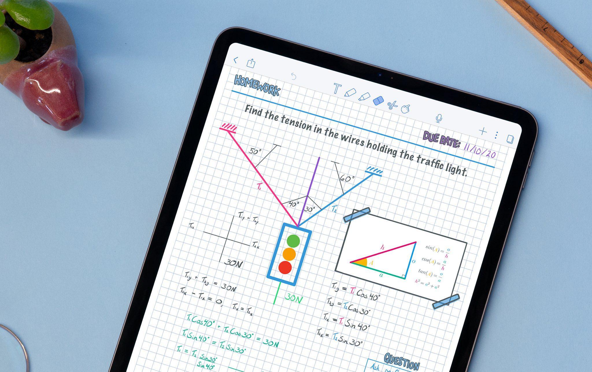 iPad Mini Tips Notability